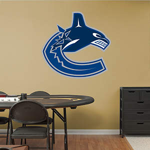 Vancouver Canucks Logo Fathead Wall Decal
